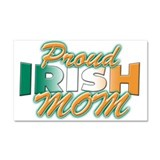 Proud irish mom Car Magnet 20 x 12