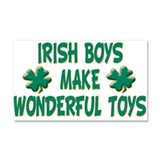Irish Boys Car Magnet 20 x 12