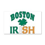 Boston irish Car Magnet 20 x 12