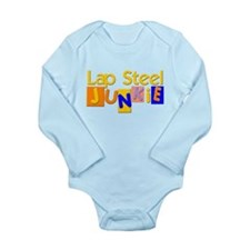 Lap Steel Guitar Long Sleeve Infant Bodysuit
