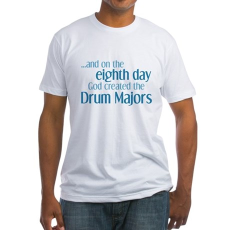 Drum Major Creation Fitted T-Shirt