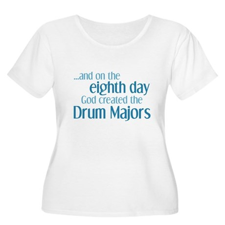 Drum Major Creation Women's Plus Size Scoop Neck T