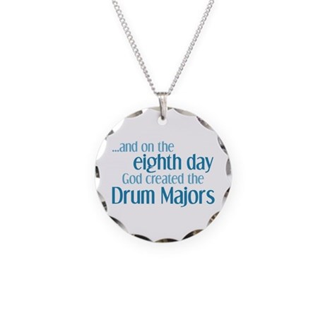 Drum Major Creation Necklace Circle Charm