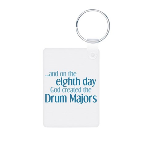 Drum Major Creation Aluminum Photo Keychain