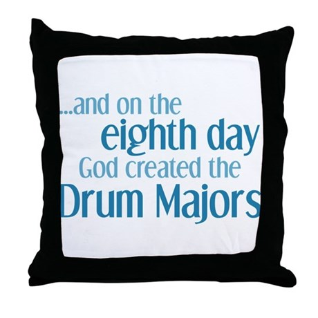 Drum Major Creation Throw Pillow