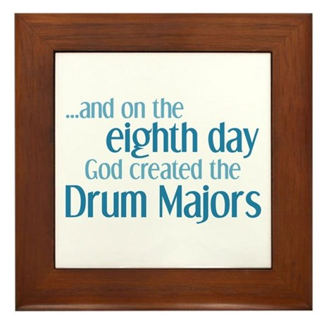 Drum Major Creation Framed Tile