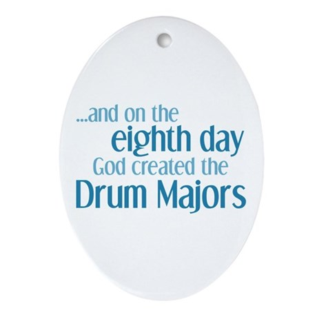 Drum Major Creation Ornament (Oval)