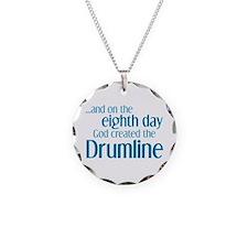 Drumline Creation Necklace Circle Charm