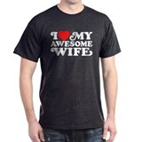 I Love My Awesome Wife Tee-Shirt