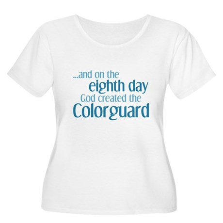 Colorguard Creation Women's Plus Size Scoop Neck T