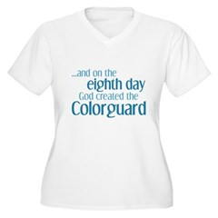 Colorguard Creation Women's Plus Size V-Neck T-Shi