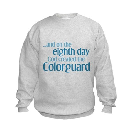 Colorguard Creation Kids Sweatshirt