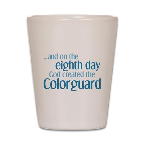 Colorguard Creation Shot Glass
