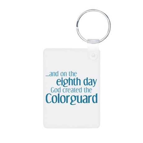 Colorguard Creation Aluminum Photo Keychain