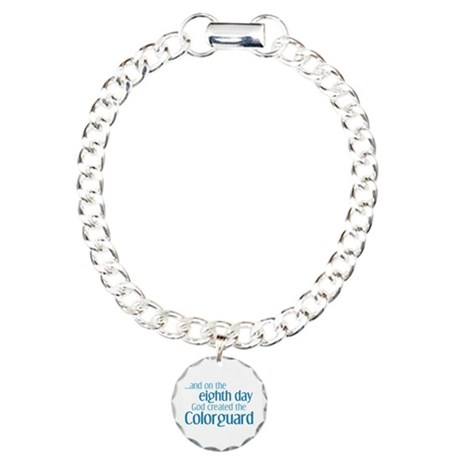 Colorguard Creation Charm Bracelet, One Charm