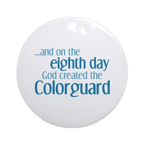 Colorguard Creation Ornament (Round)
