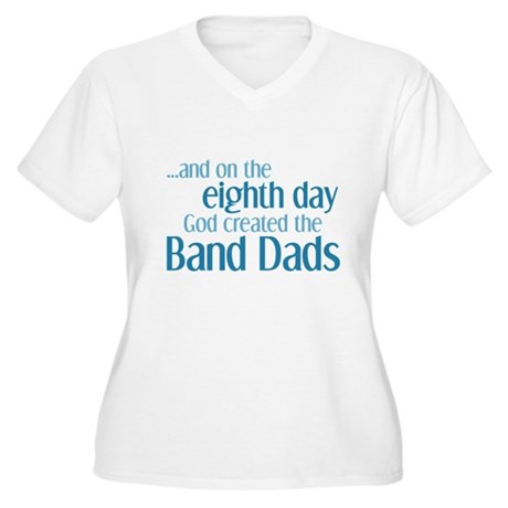 Band Dad Creation Women's Plus Size V-Neck T-Shirt