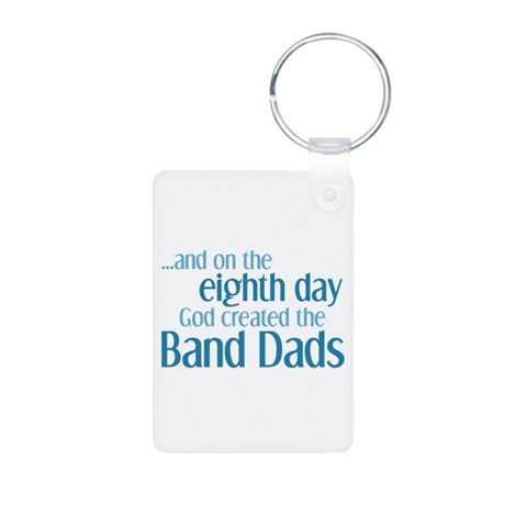 Band Dad Creation Aluminum Photo Keychain