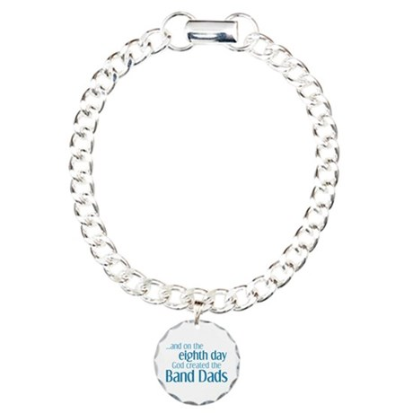 Band Dad Creation Charm Bracelet, One Charm