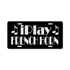 French Horn Music License Plate Gift