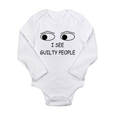Cute Correctional officer Long Sleeve Infant Bodysuit