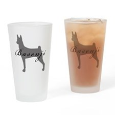 Basenji Drinking Glass