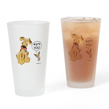 CHIHUAHUA ATTITUDE Drinking Glass
