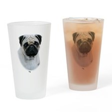 Pug 9Y383D-294 Drinking Glass