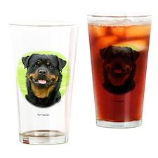 Rottweiler 9W025D-037 Drinking Glass