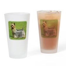 Australian Silky Terrier 9R02 Drinking Glass