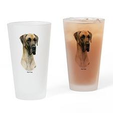 Great Dane 9Y052D-035 Drinking Glass