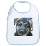 GSD Puppy Face Bib