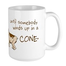 Dog Cone Coffee Mug