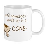 Dog Cone Small Mugs
