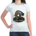 Musky, 6 Jr. Ringer T-Shirt