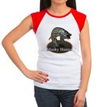 Musky, 6 Women's Cap Sleeve T-Shirt