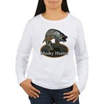 Musky, 6 Women's Long Sleeve T-Shirt
