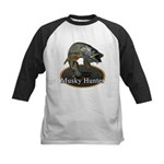 Musky, 6 Kids Baseball Jersey