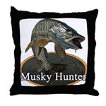 Musky, 6 Throw Pillow