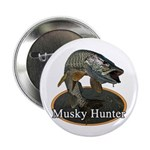 Musky, 6 2.25&quot; Button (100 pack)