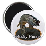 Musky, 6 2.25&quot; Magnet (100 pack)