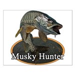 Musky, 6 Small Poster
