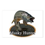 Musky, 6 Postcards (Package of 8)