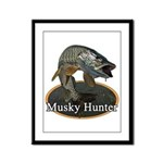 Musky, 6 Framed Panel Print