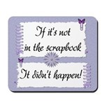 If it's not in the Scrapbook. Mousepad