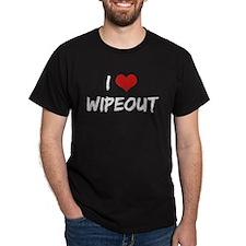 Vintage I Love Wipeout Dark T-Shirt