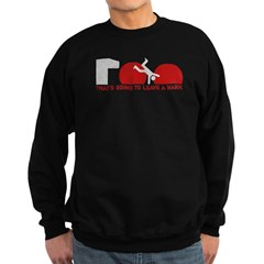 Wipeout - That's going to lea Sweatshirt (dark)