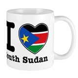 I love South Sudan Small Mug