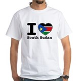 I love South Sudan Shirt