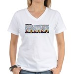 0246 - A truly free aviator Women's V-Neck T-Shirt